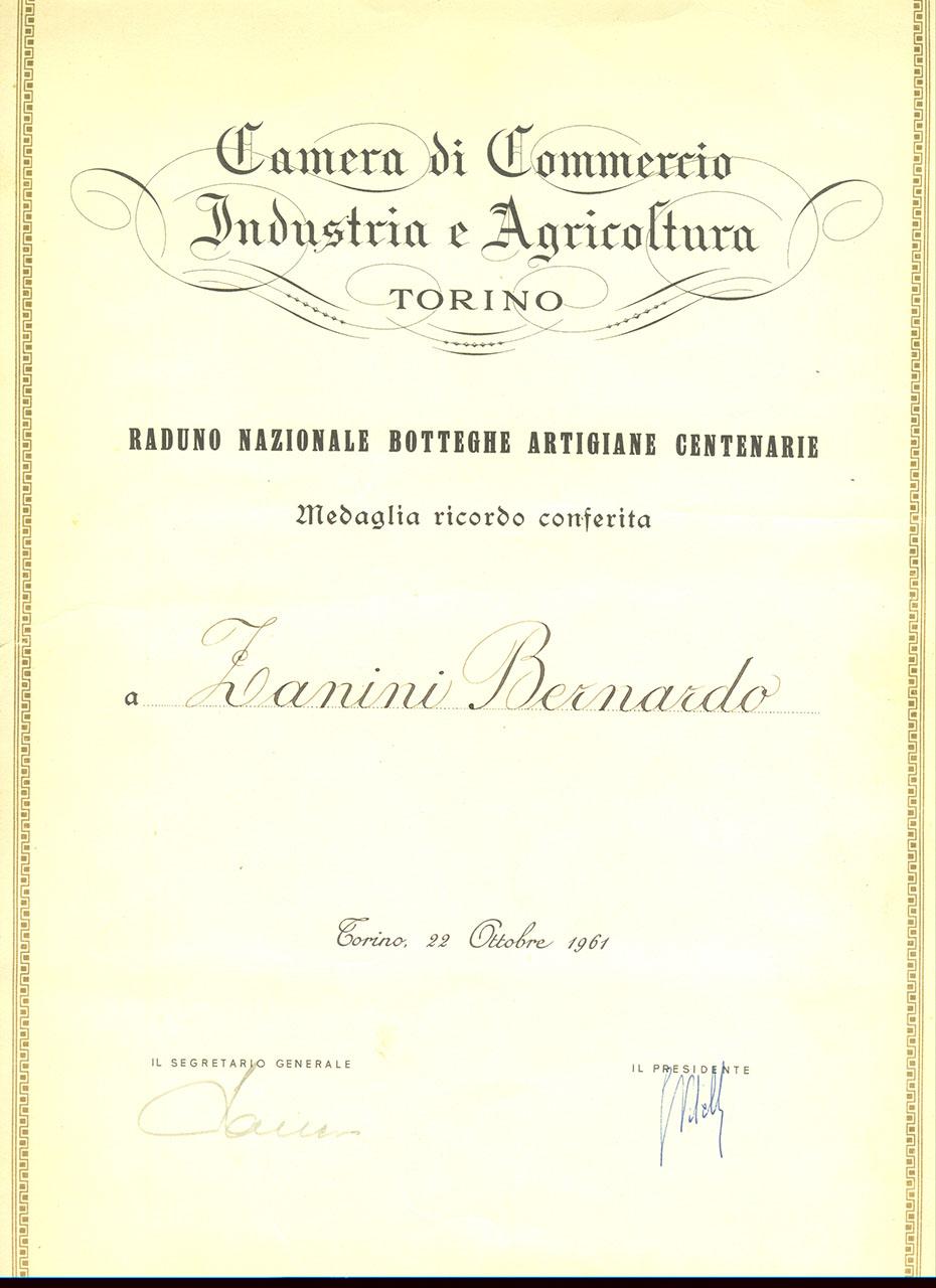Raduno botteghe centenarie - 1961