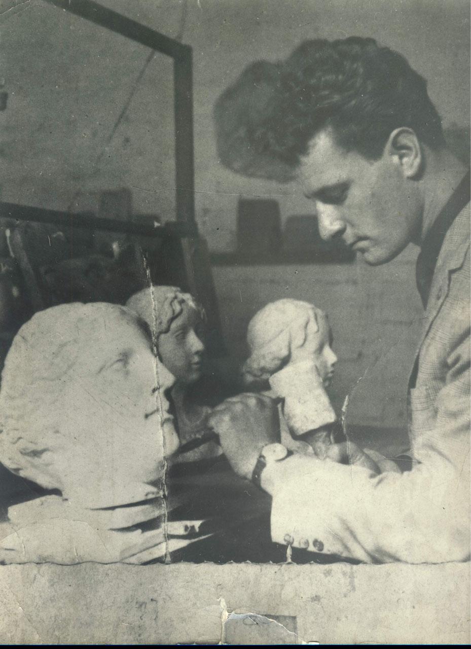 Scuola di scultura Natalino Zanini - 1953